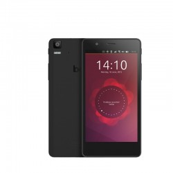 Aquaris E5 HD Ubuntu Edition (16+1GB) black/black with earphones